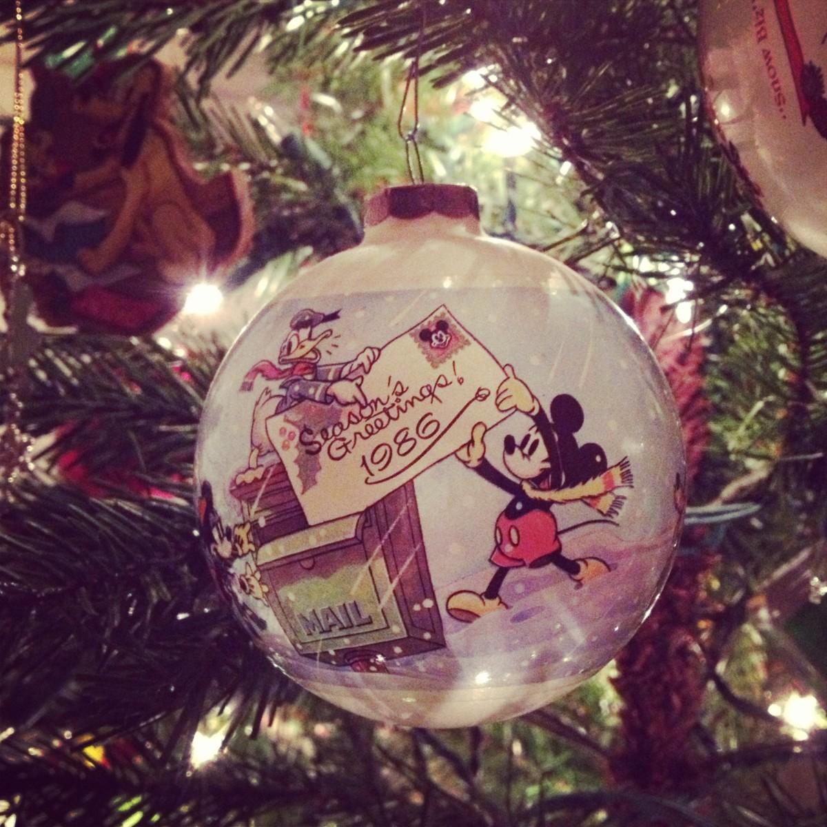 Mickey Mouse, circa 1986.