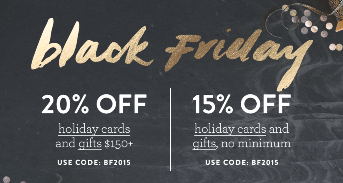 Minted Holiday Promotions
