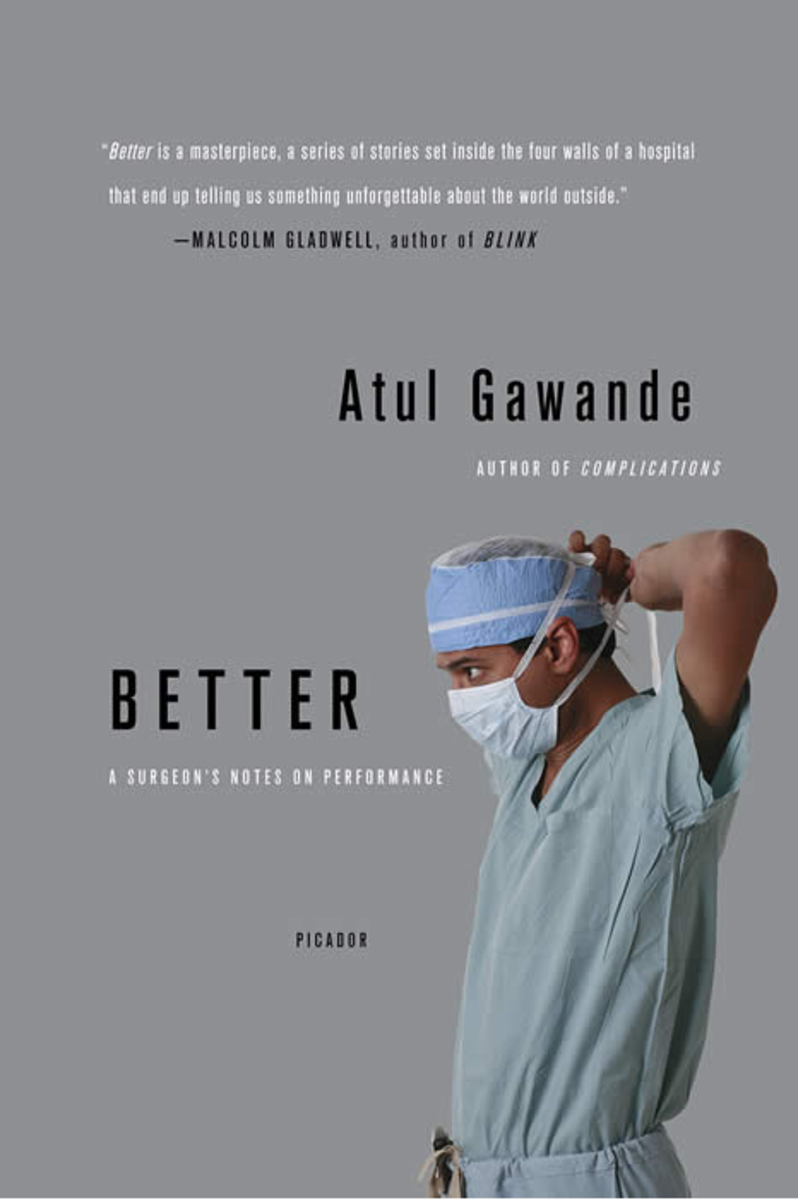 Cover for the book Better: A Surgeon's Notes on Performance