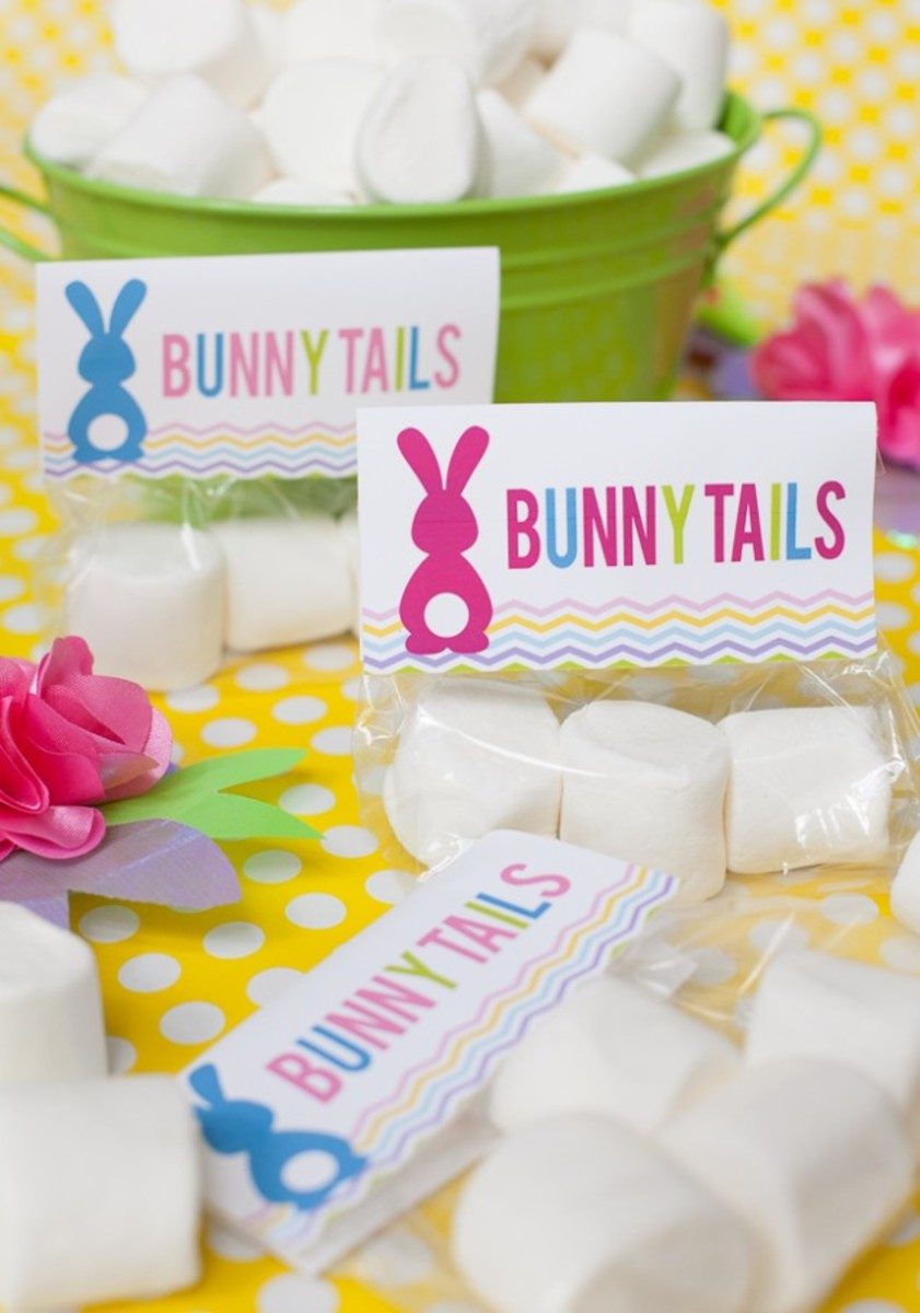Bunny Tails Free Easter Printable