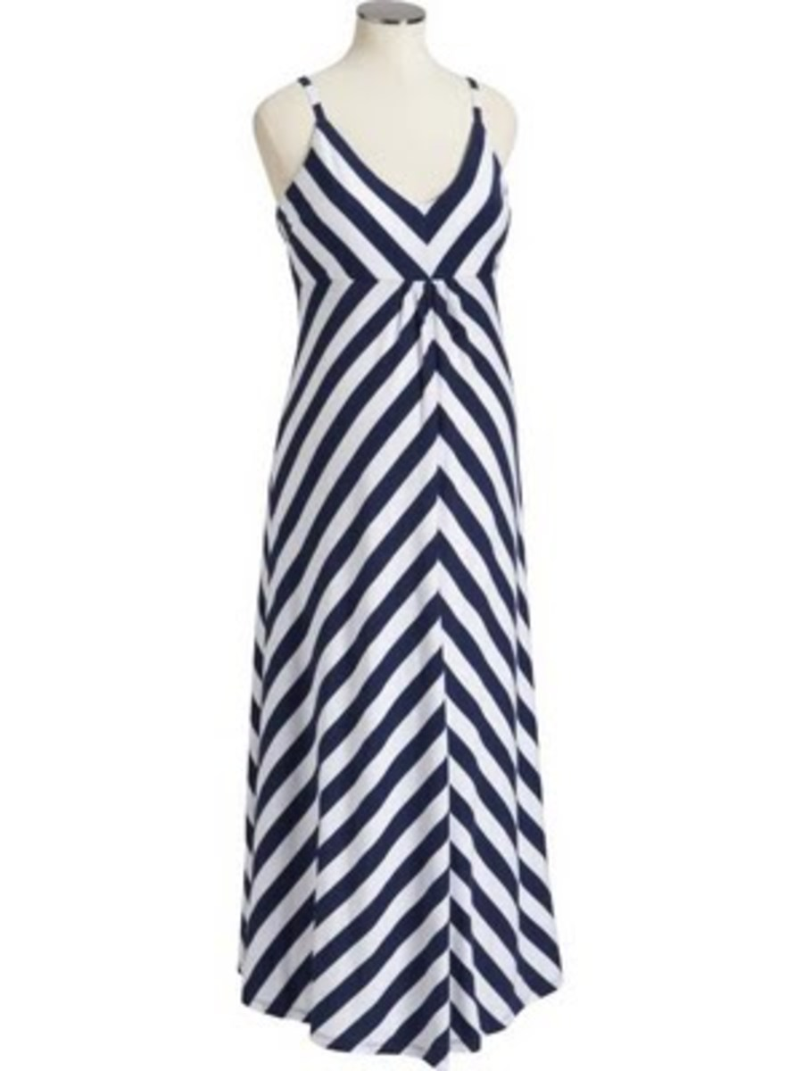 old navy stripe maternity dress