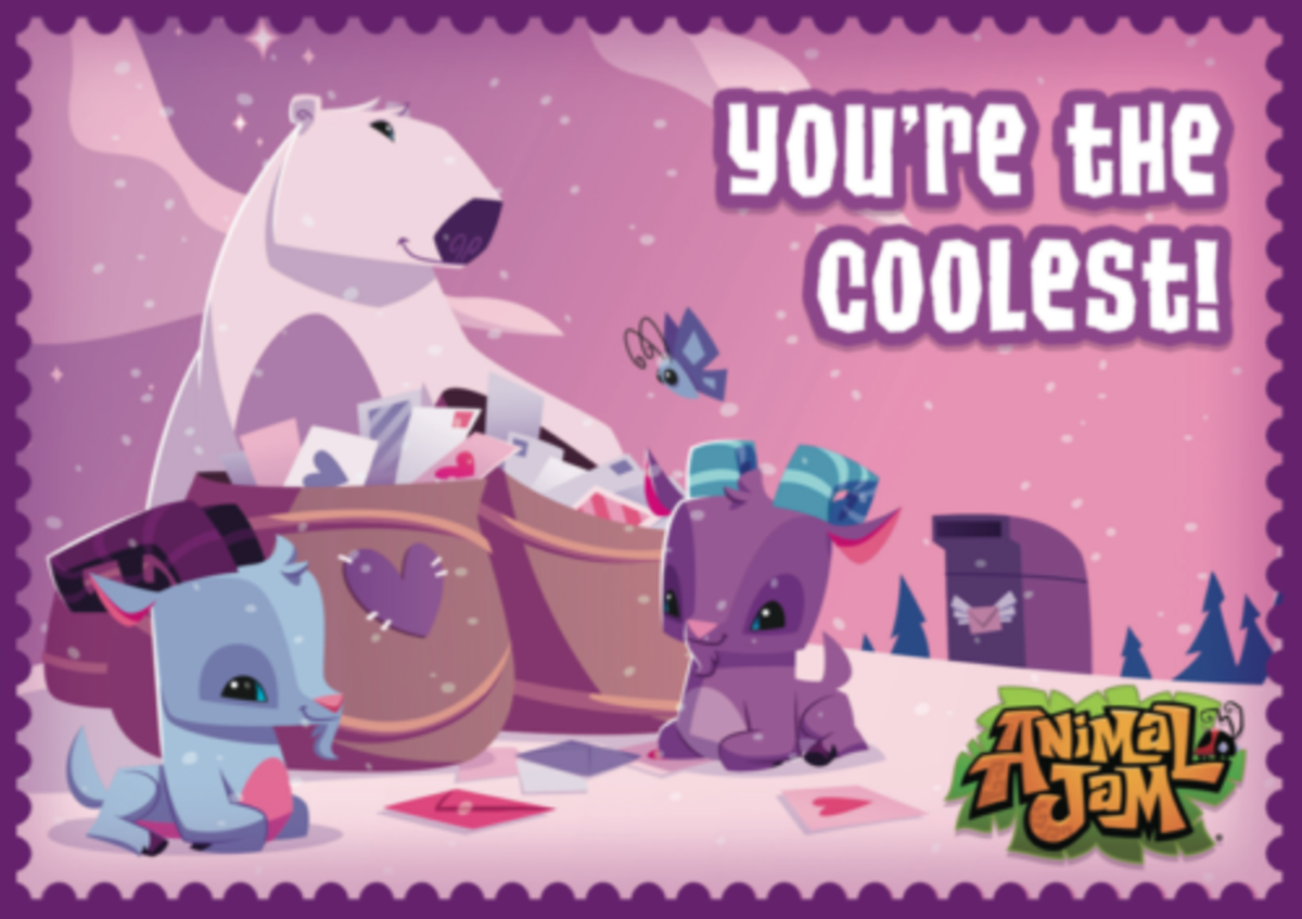 Animal Jam Codes + Free Valentine's Day Printables - Today's