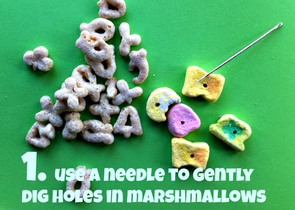lucky charms bracelet pieces