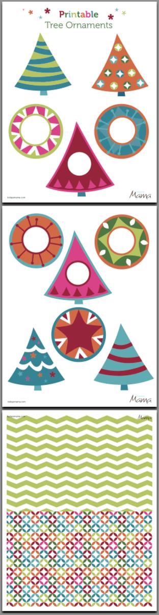 free printable ornaments