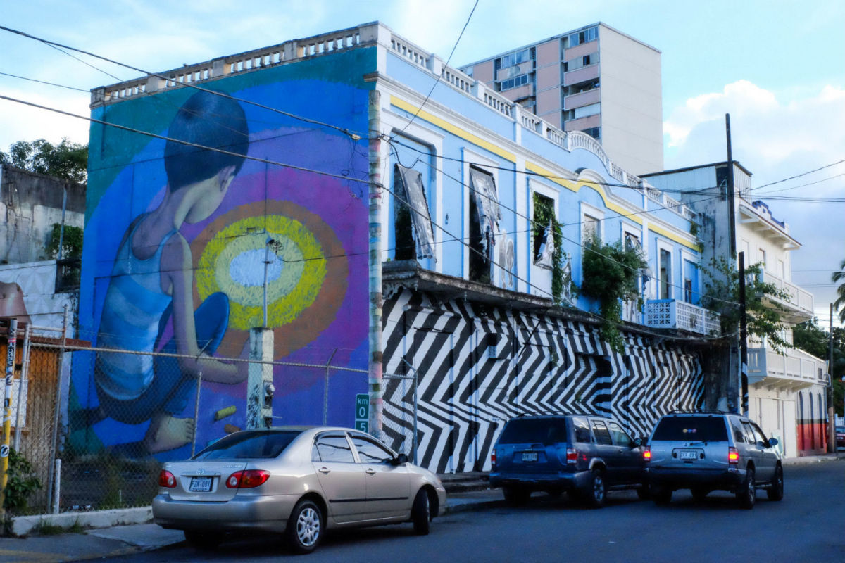 Street art in Santurce (Photo: Michelle Rae Uy)