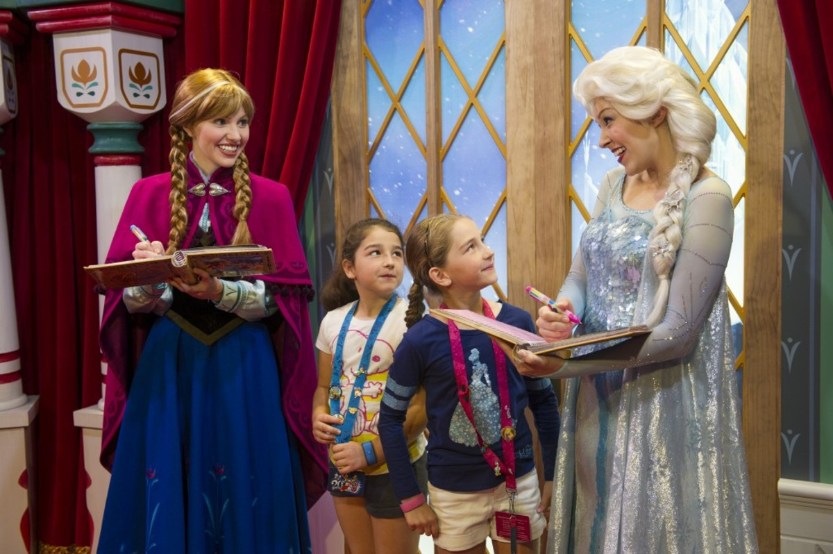 Where to find Anna and Elsa at Disneyworld
