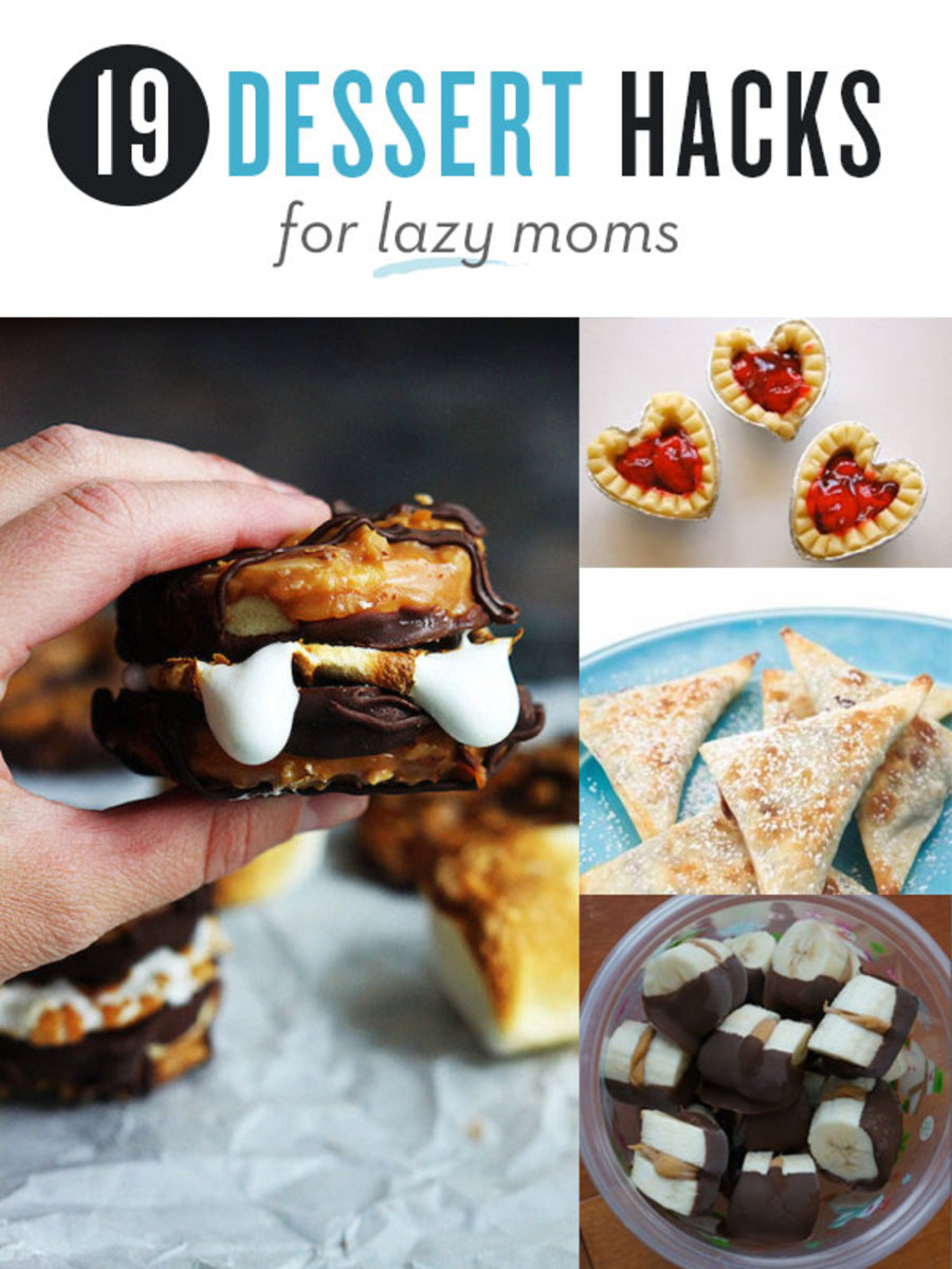 19 Dessert Hacks for Lazy Moms