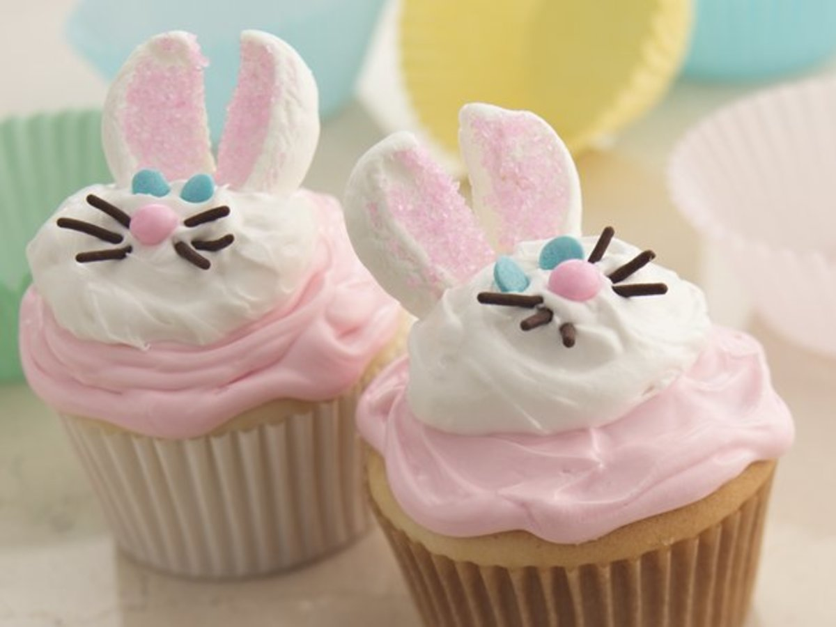 Bunny Cupcakes from Betty Crocker