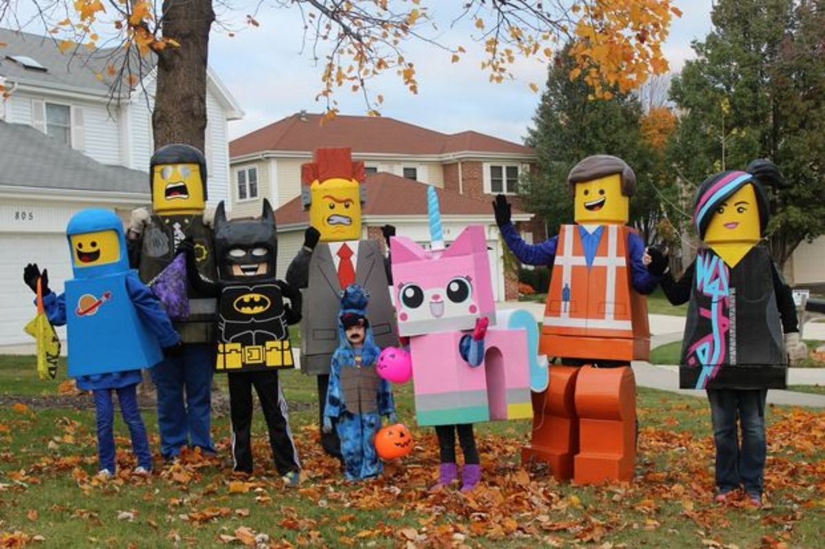 The LEGO Movie LEGO Costumes
