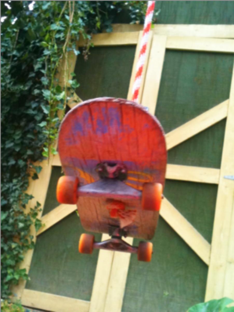 Old Skateboard Deck