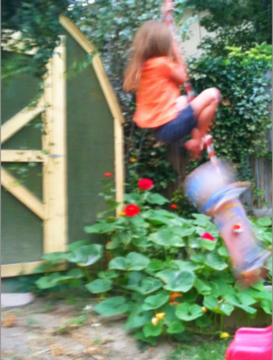 Tree Swing Tricks