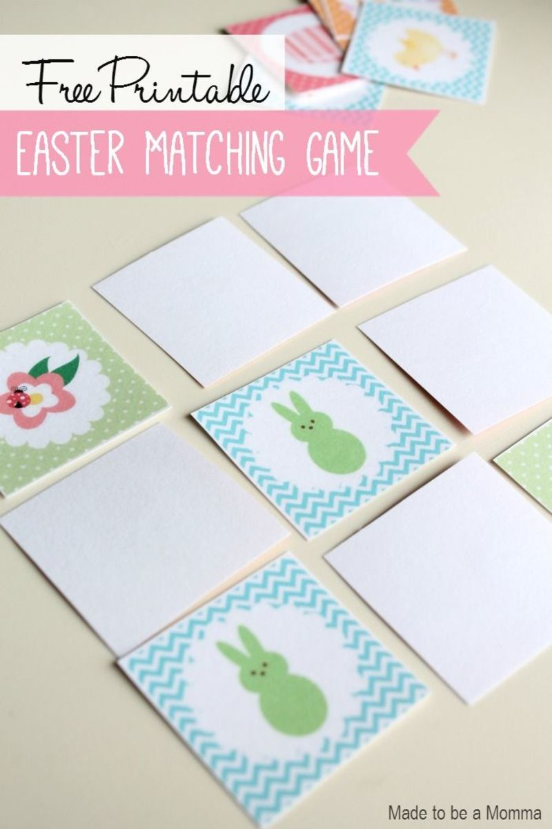 7 Easter Games for Families