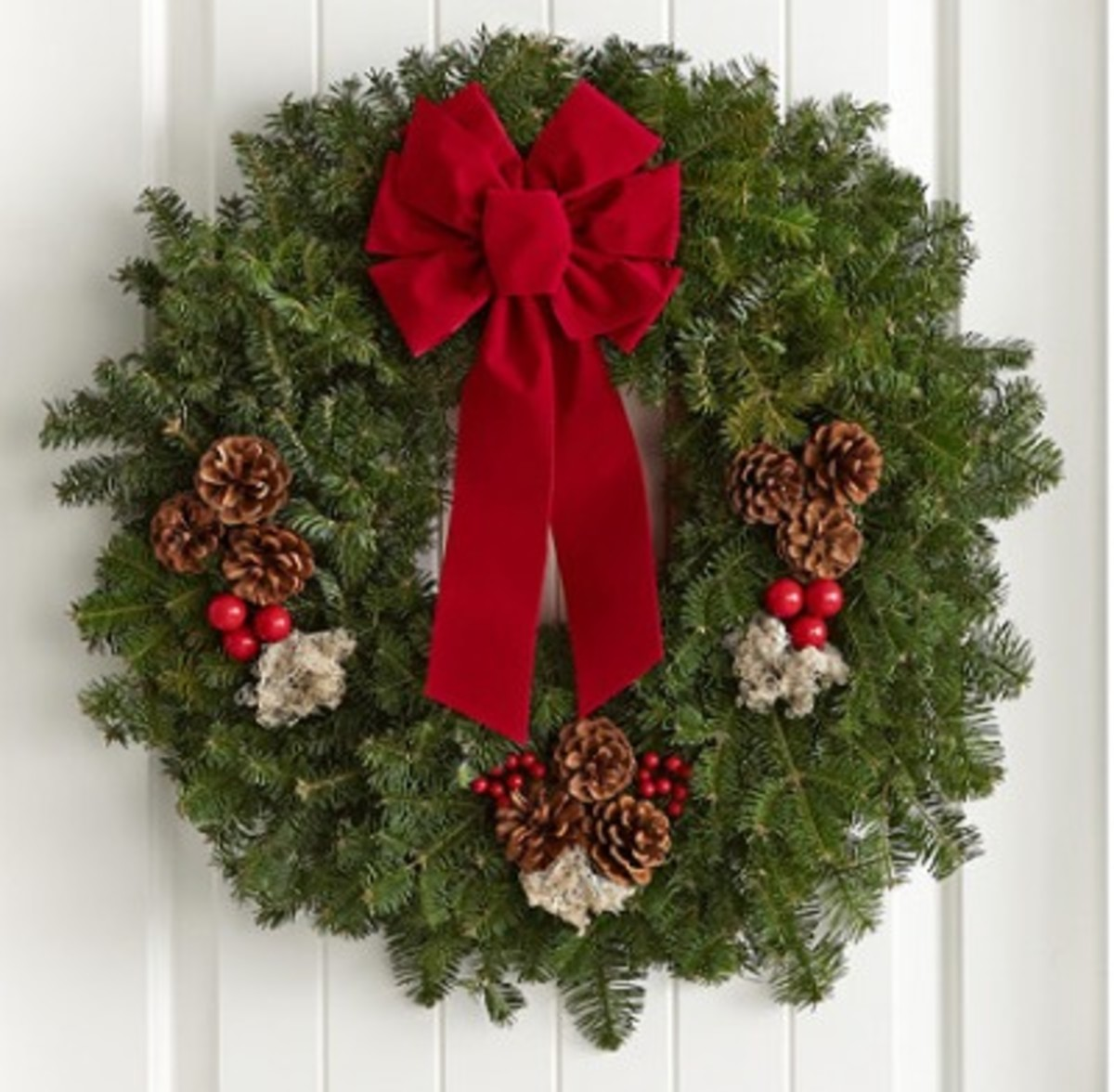 gift guide mail order llbean wreath