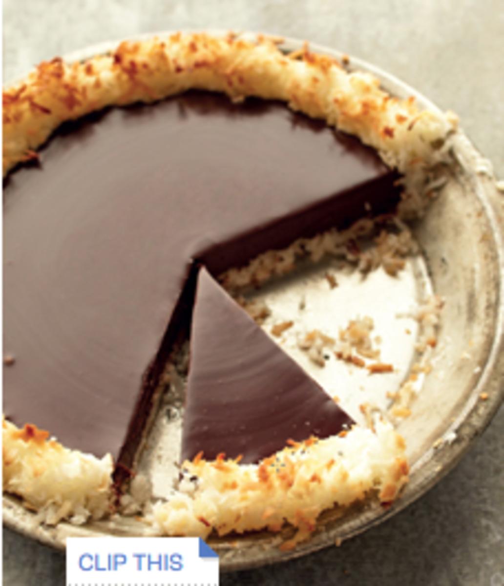 chocolate coconut gluten free desserts
