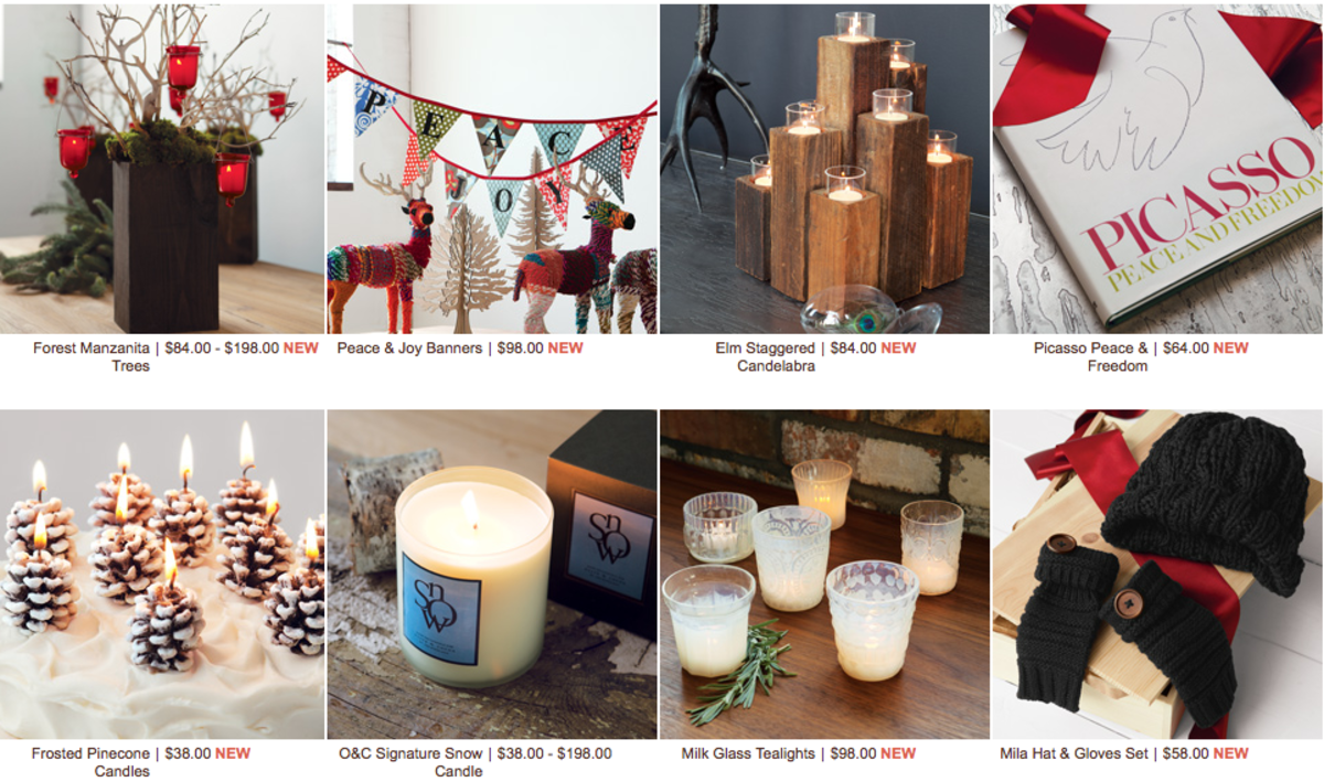 gift guide mail order Olive and Cocoa Holidays