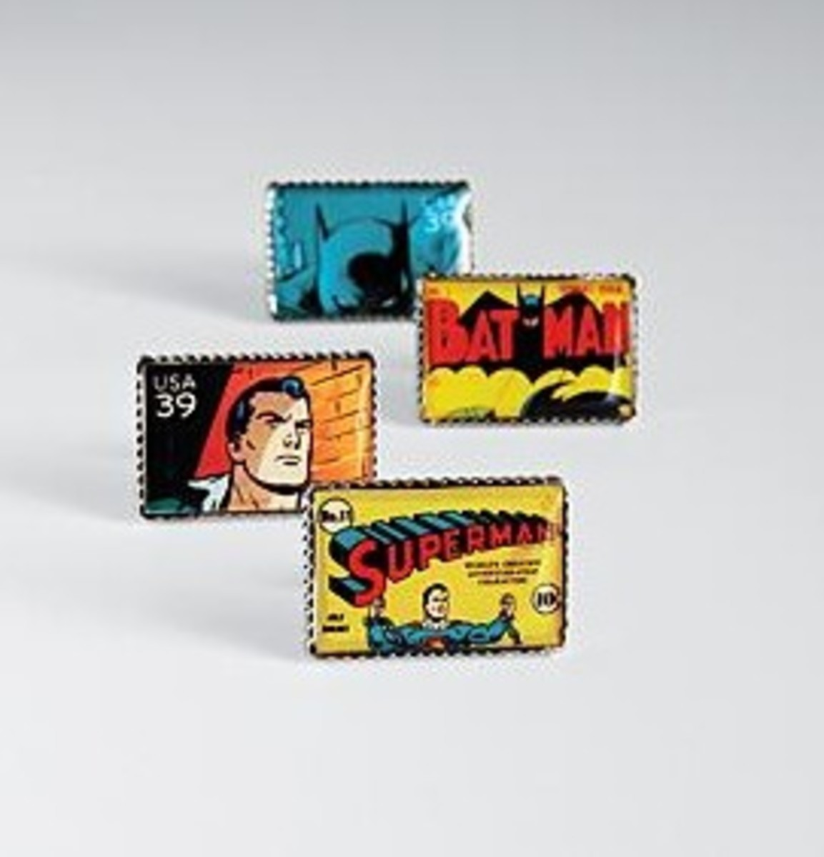 Superhero Cufflinks. Yes!