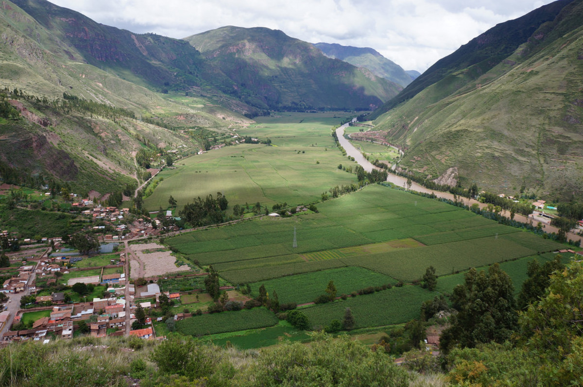 Sacred Valley of the Incas (Flickr: pratiproy)