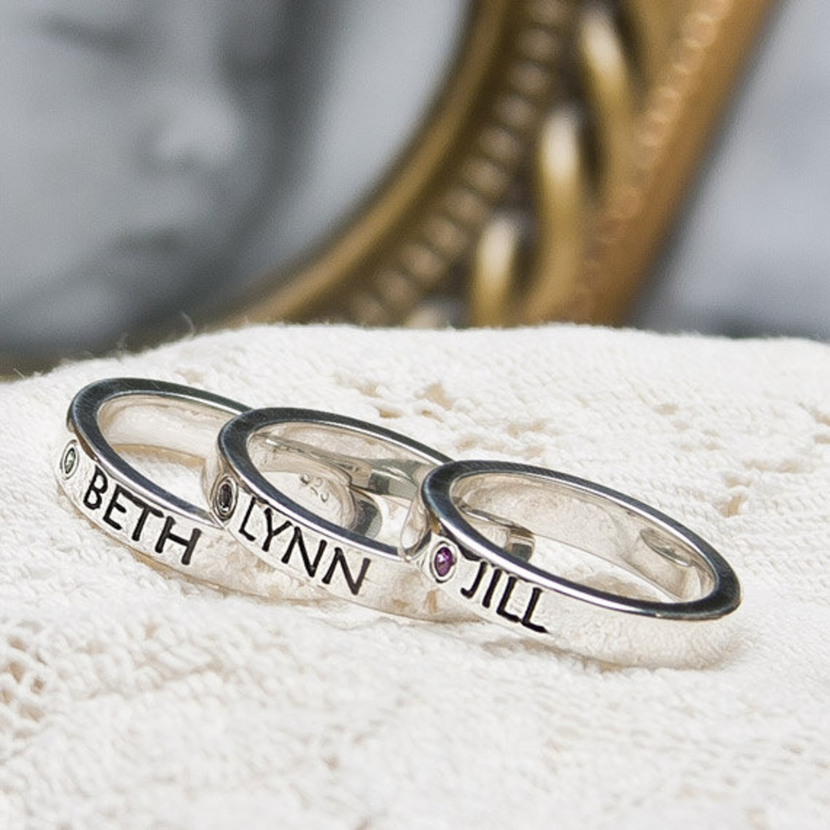 stackable mother's day rings