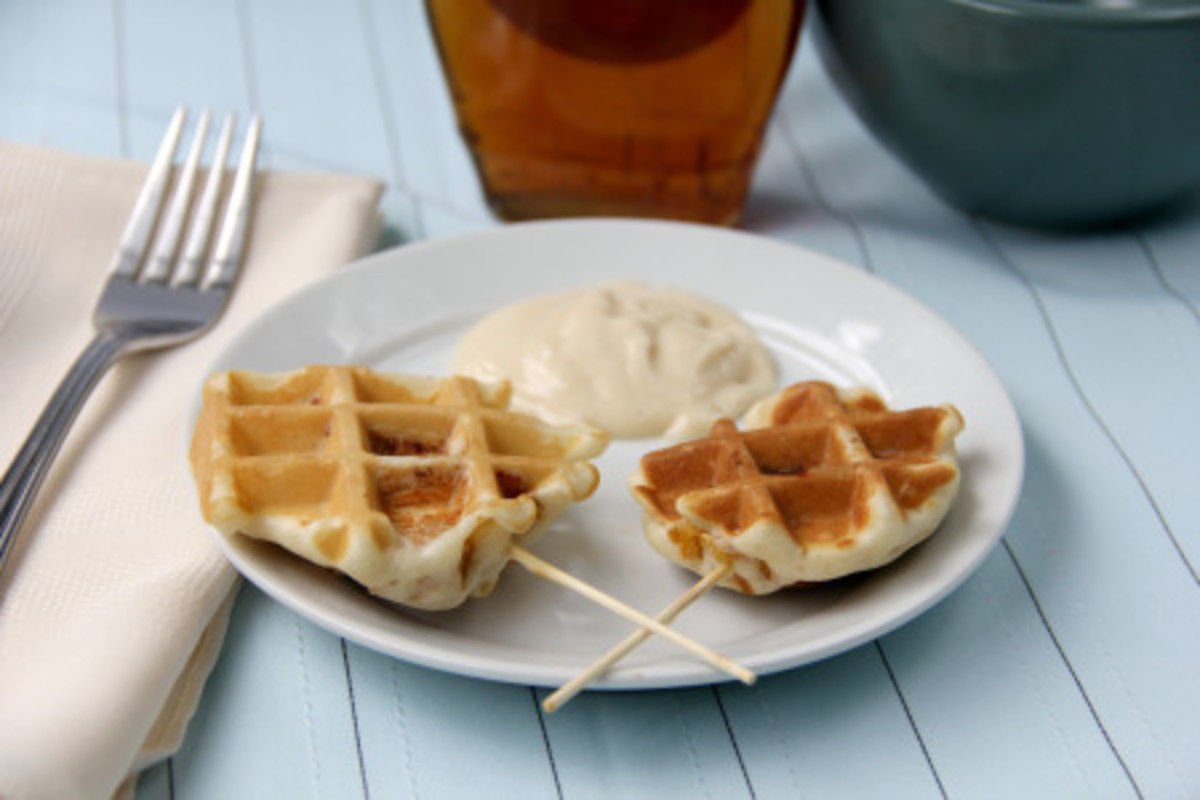 Chicken Waffle Pops | Snappy Gourmet