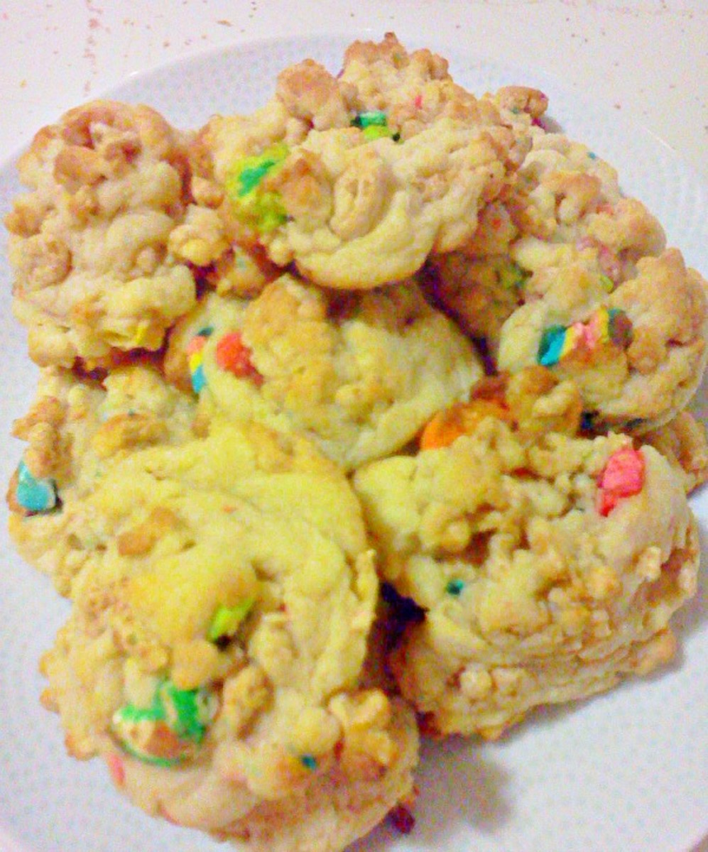 Lucky Charms Cookies