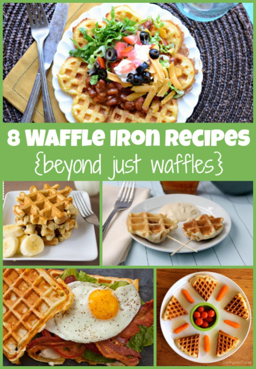 8 Waffle Iron Recipes Beyond Just Waffles!