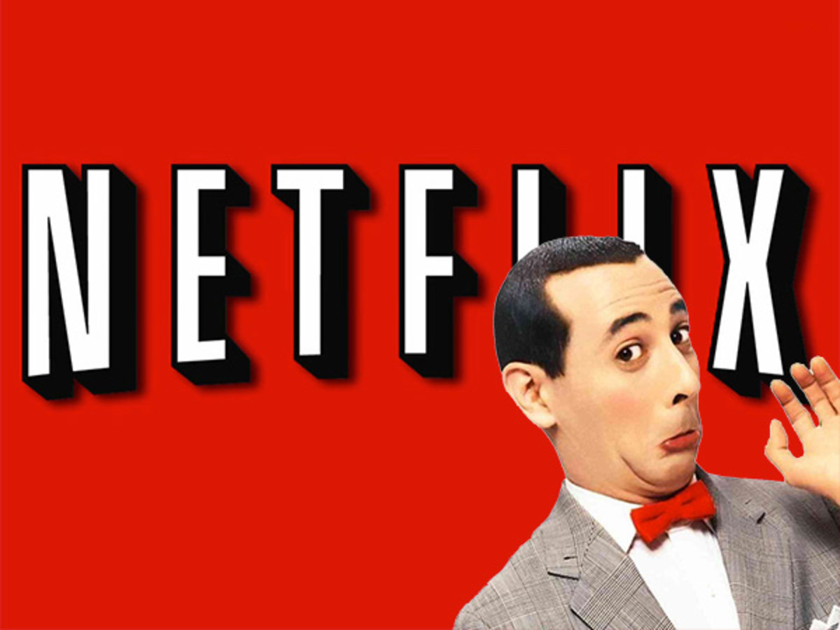 Pee Wee's Big Holiday On Netflix