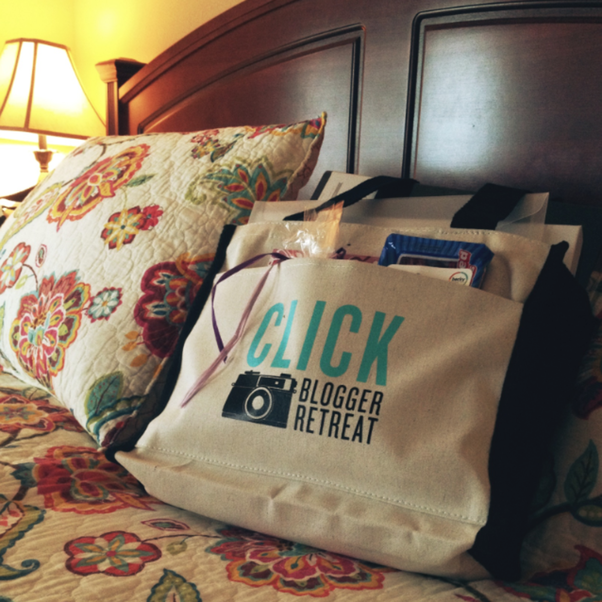 Click Retreat Welcome Bag