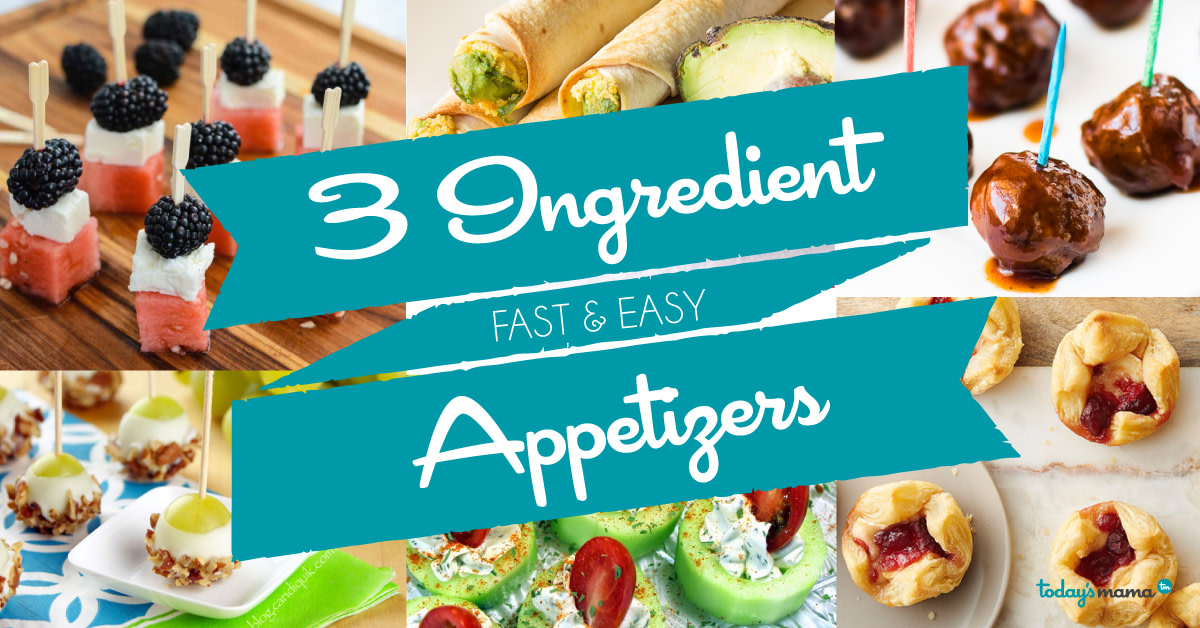 3 Ingredient Appetizers