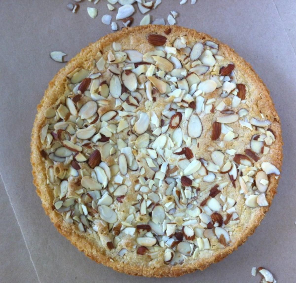 Simple Almond Cake Full