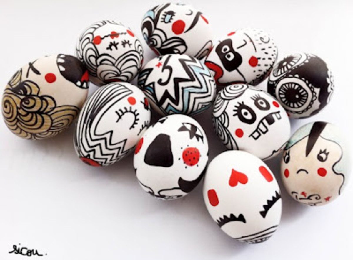 Punk Rock Easter Eggs