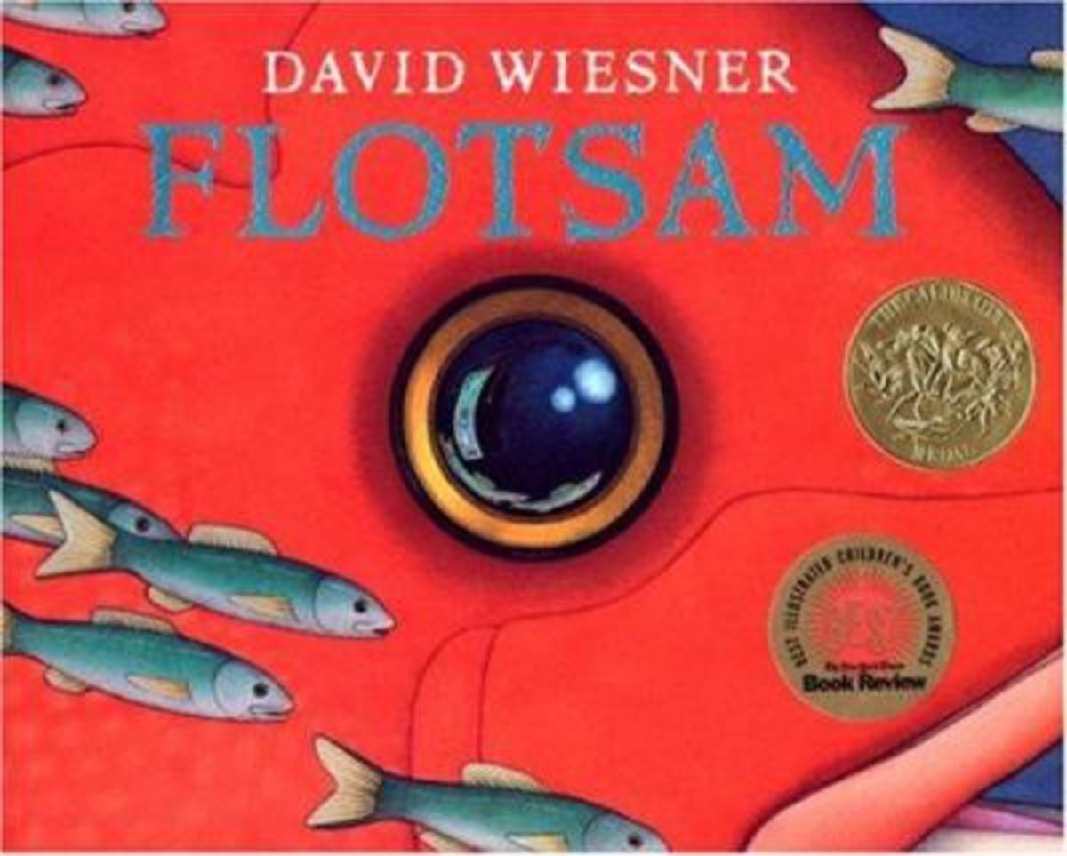 Flotsam by David Wiesner Best Wordless Picture Books