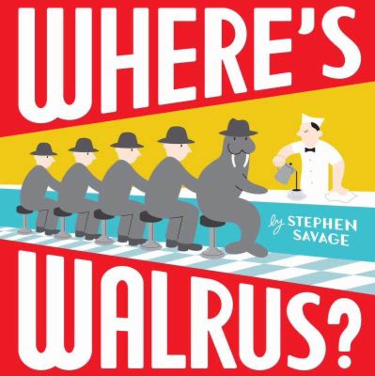 Where's Walrus Best Wordless Picture Books