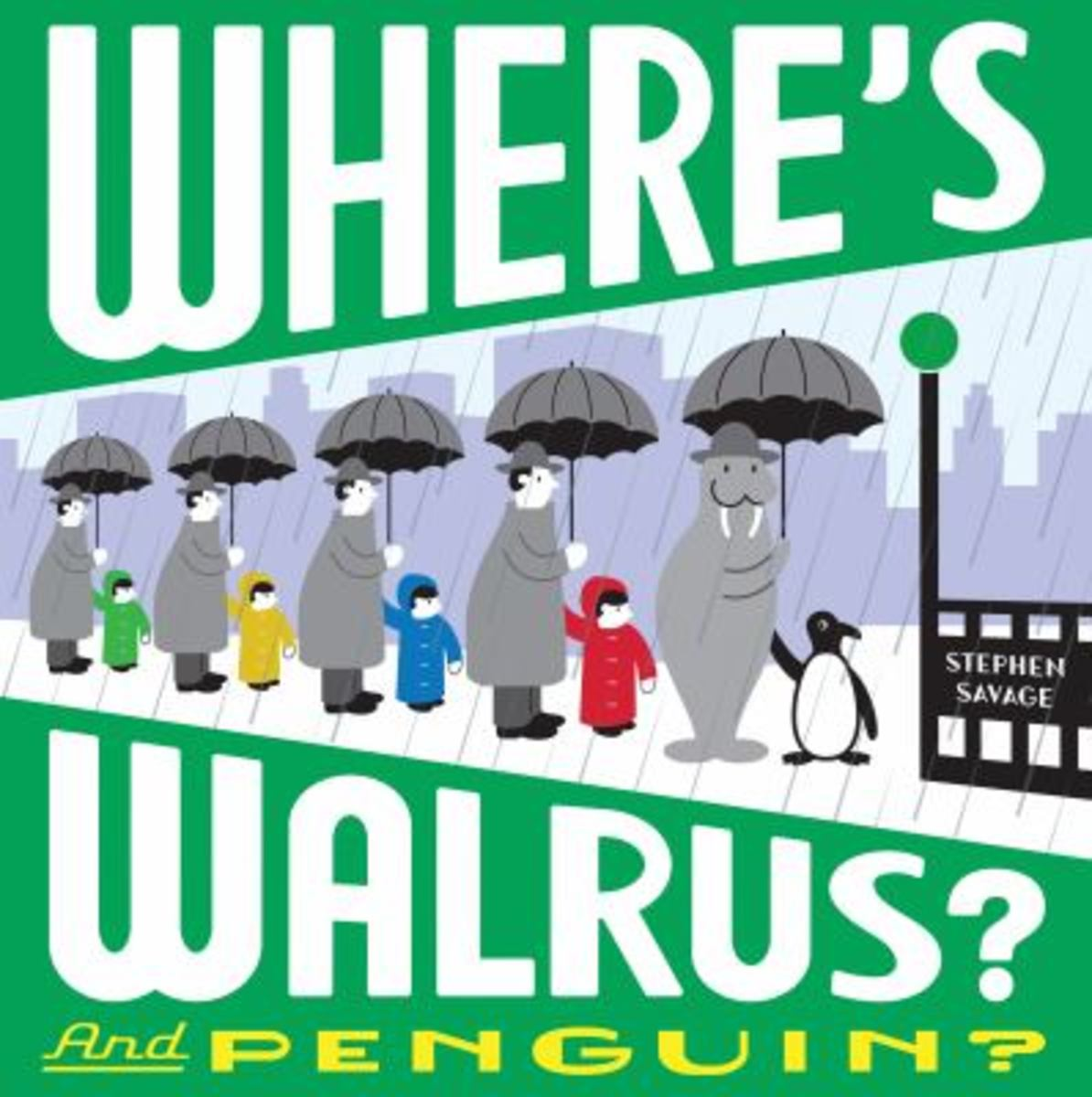 Where's Walrus and Penguin Best Wordless PIcture Books
