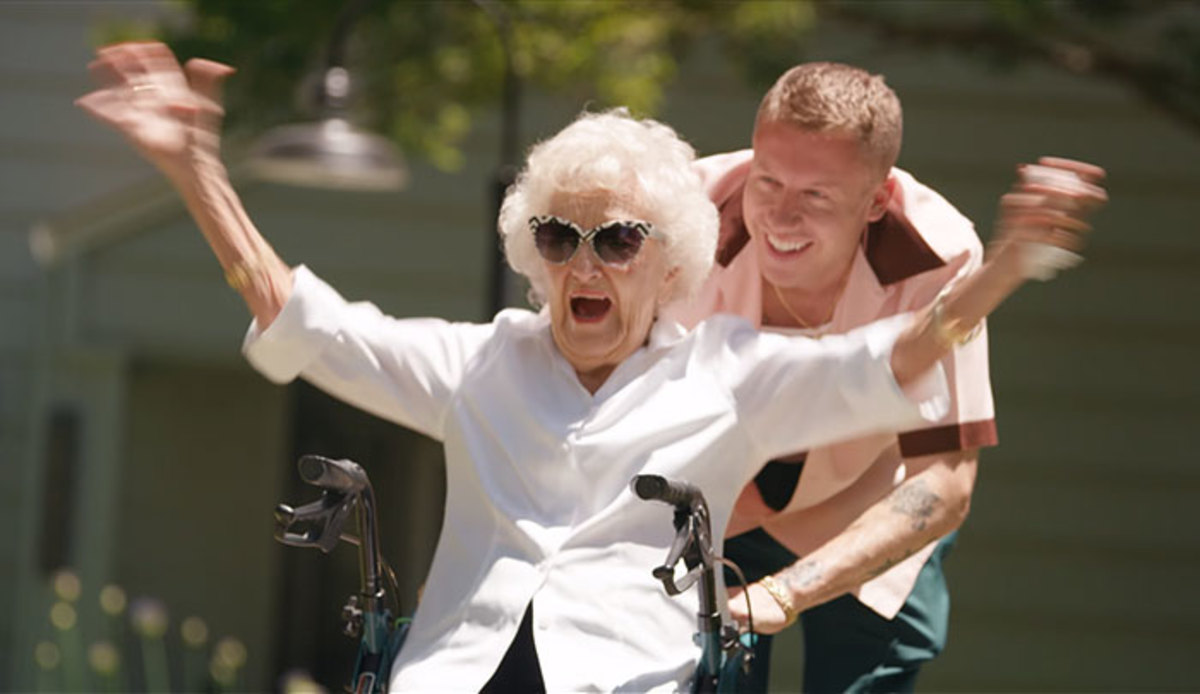 Macklemore and his Grandma