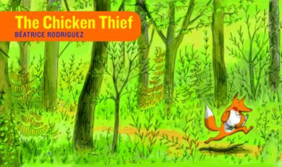 The Chicken Thief Best Wordless Picture Books