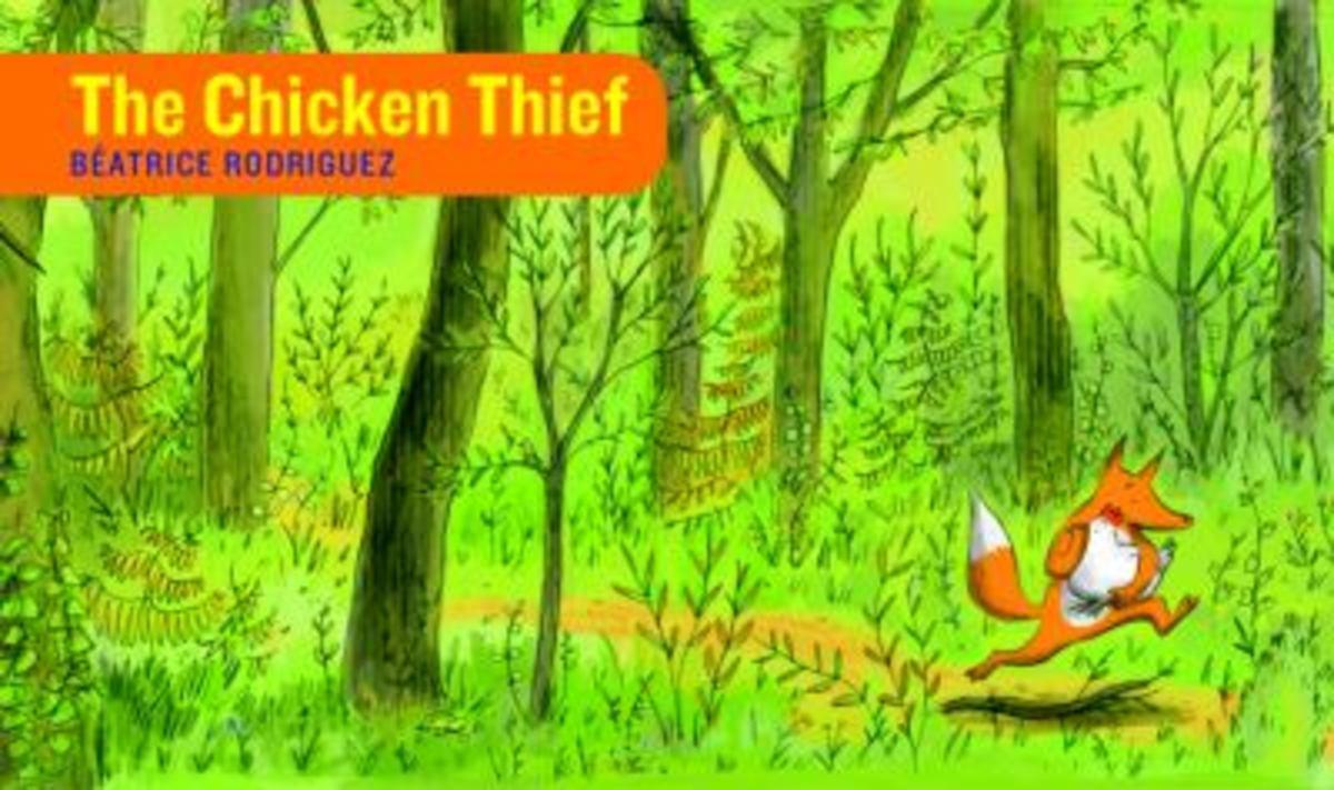 The Chicken Thief Best Wordless Picture Books