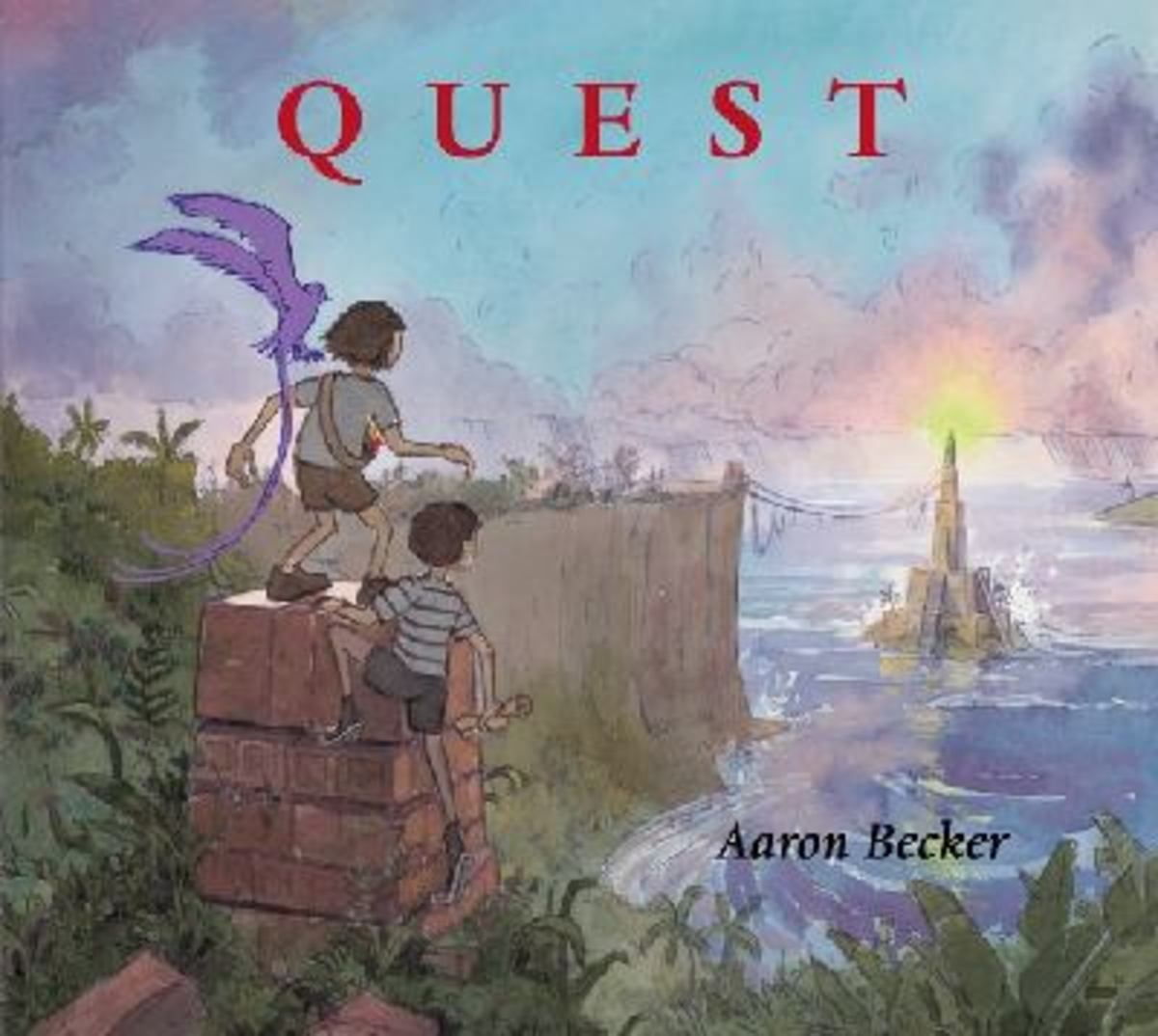 Quest by Aaron Becker Best Wordless Picture Books