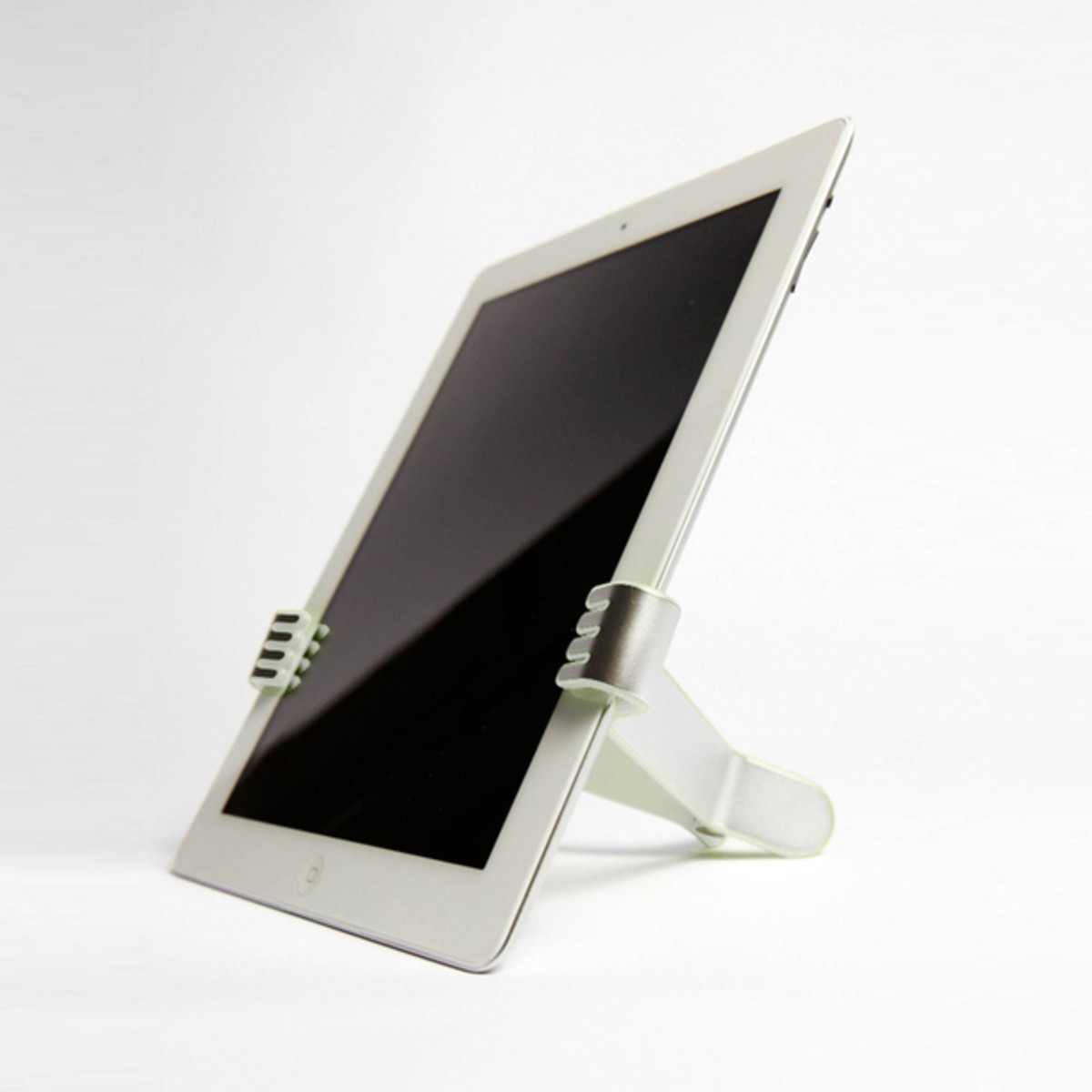 two hands ipad holder