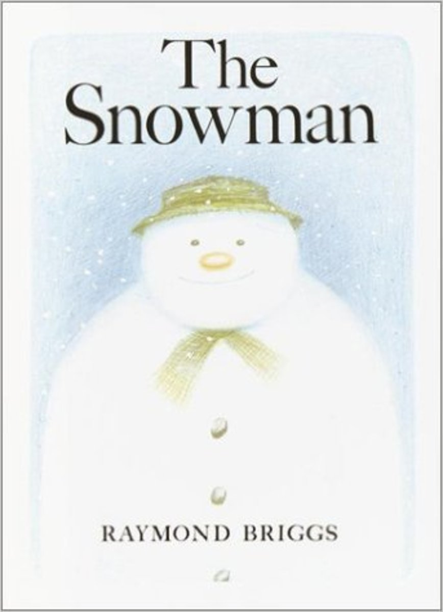 The Snowman by Raymond Briggs Best Wordless Picture Books