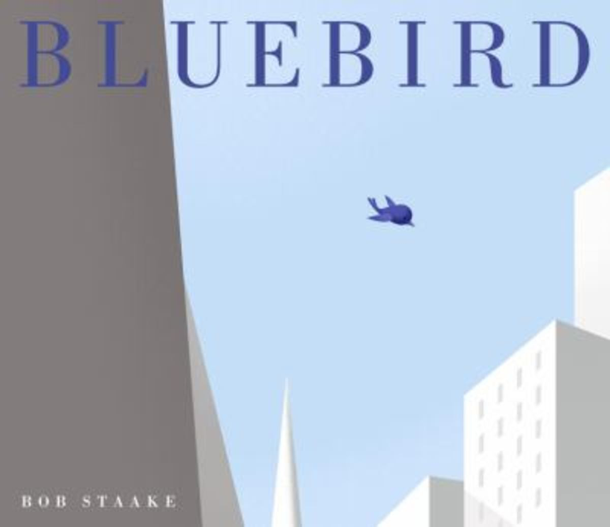 Best Wordless Picture Books Bluebird by Bob Staake