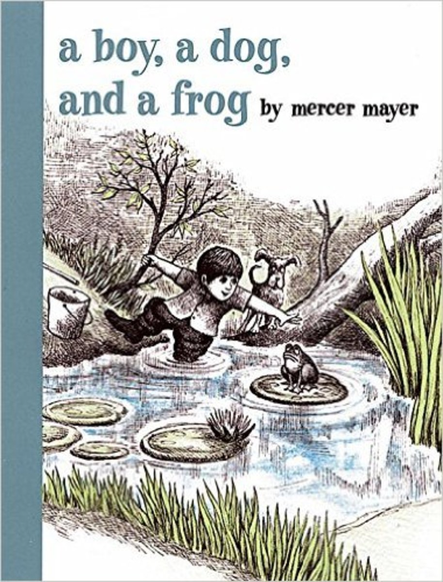 A Boy, a Dog and a Frog by Mercer Mayer Best Wordless Books