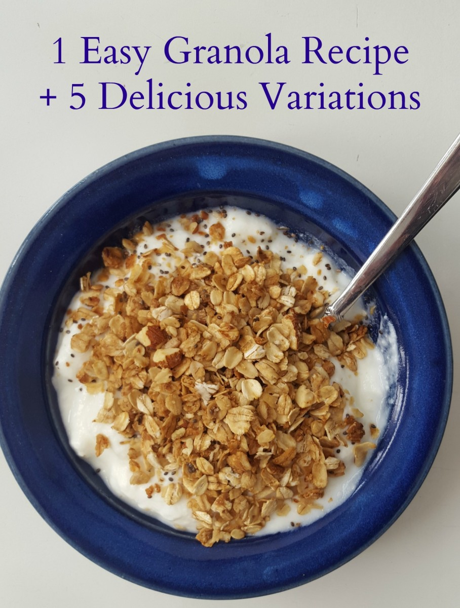 Easy Granola Recipe Plus 5