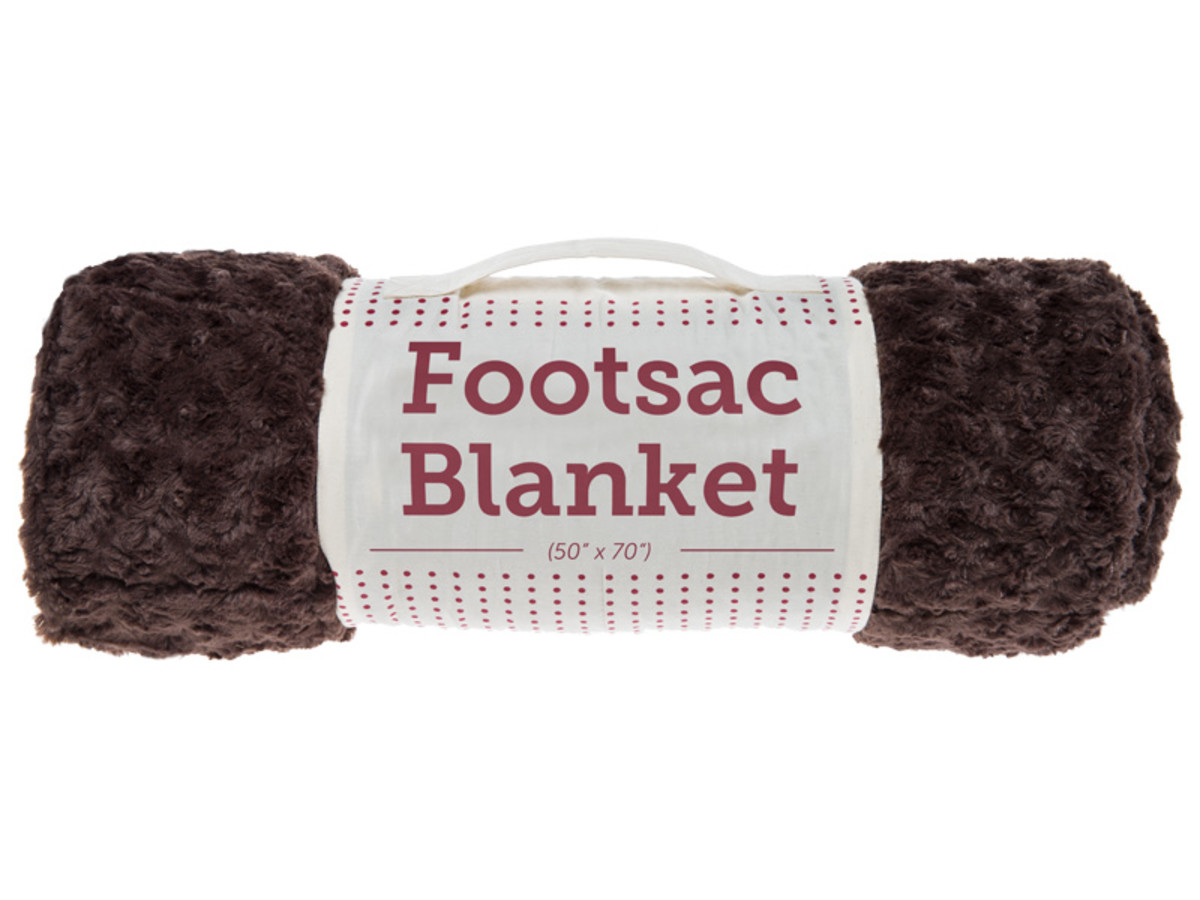 Lovesac Footsac Blanket in Moussephur