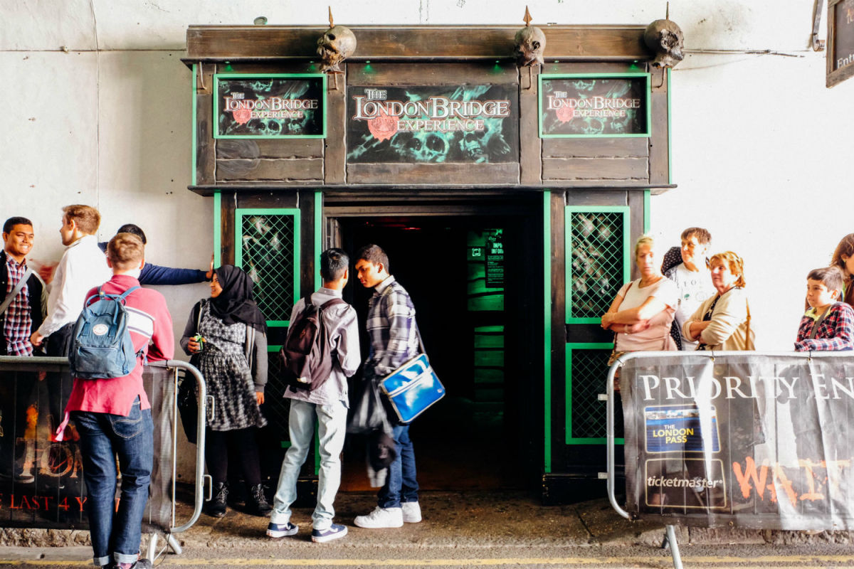 Take the older kids to see the London Bridge Experience. (Photo: Michelle Uy)