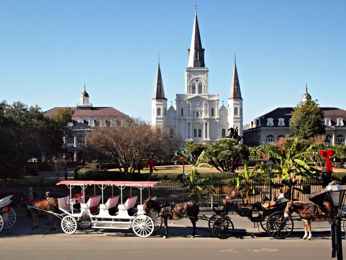 Jackson Square in New Orleans (Photo: Jody Halstead)