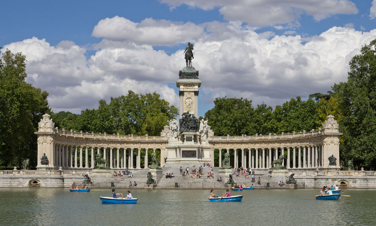Parque del Buen Retiro in Madrid (Photo: Kadellar)