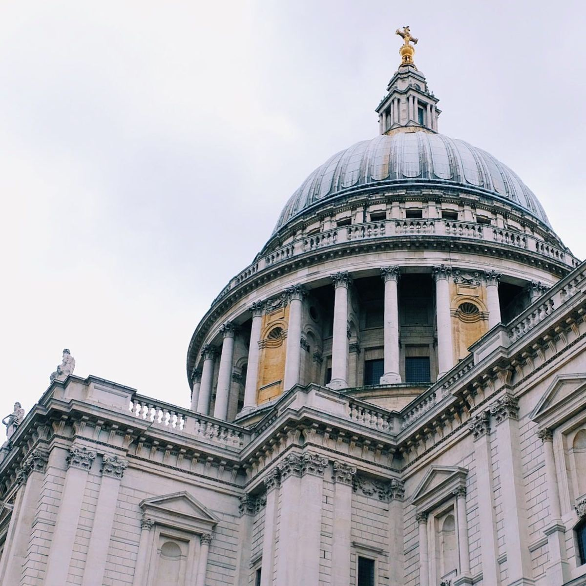 St. Paul's Cathedral is a must visit sight in the City of London. (Photo: Michelle Uy)