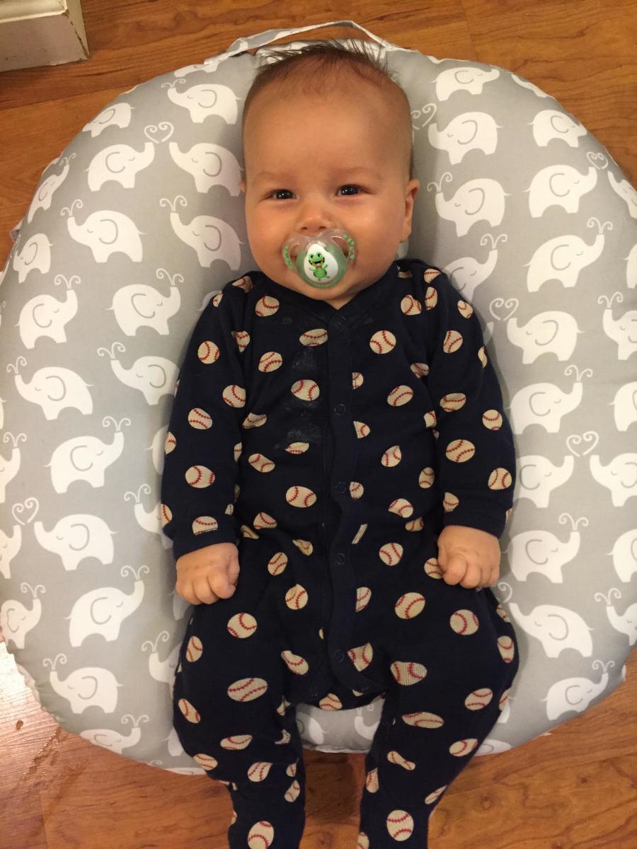 The Boppy Newborn Lounger