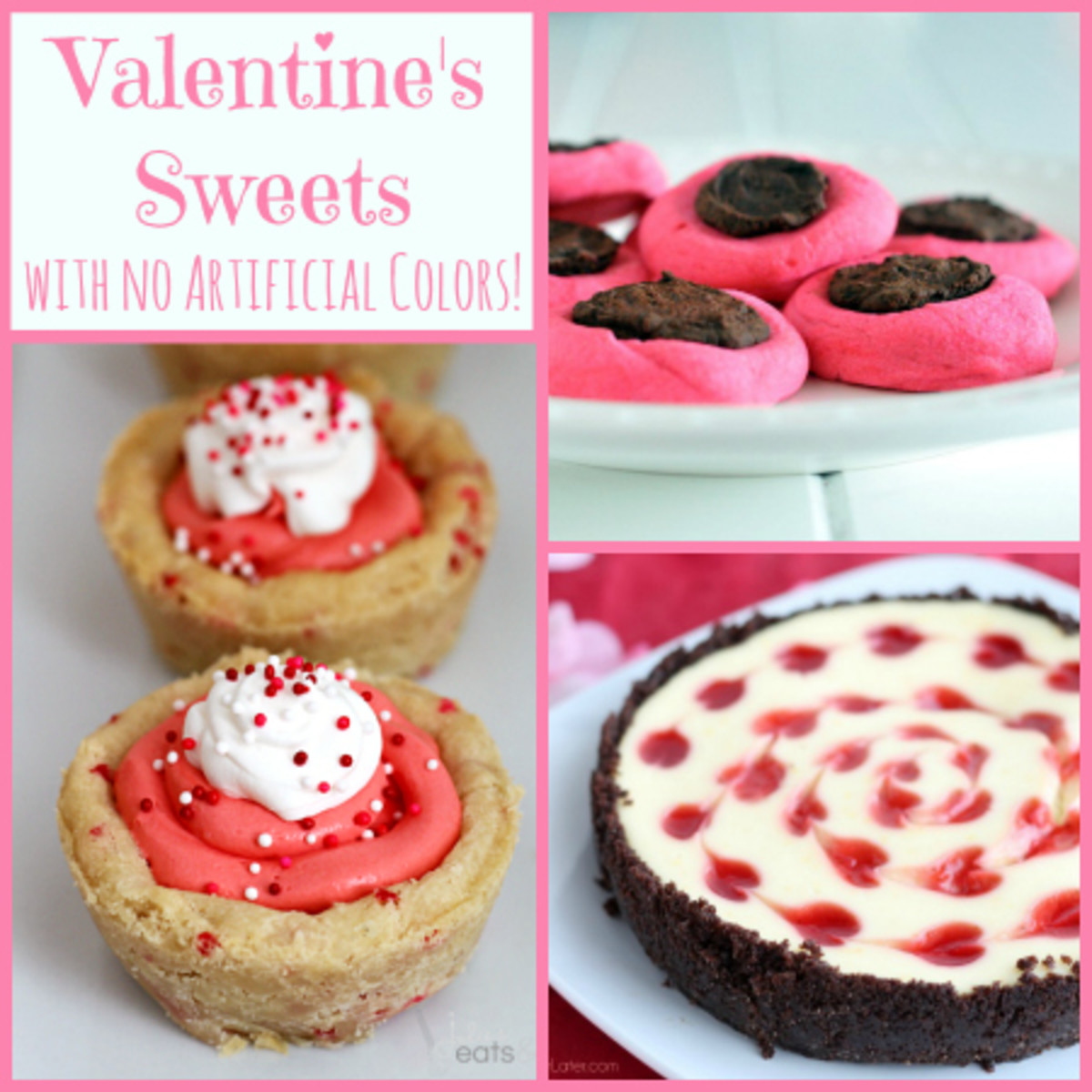 8 Valentine's Sweets with No Artificial Colors!
