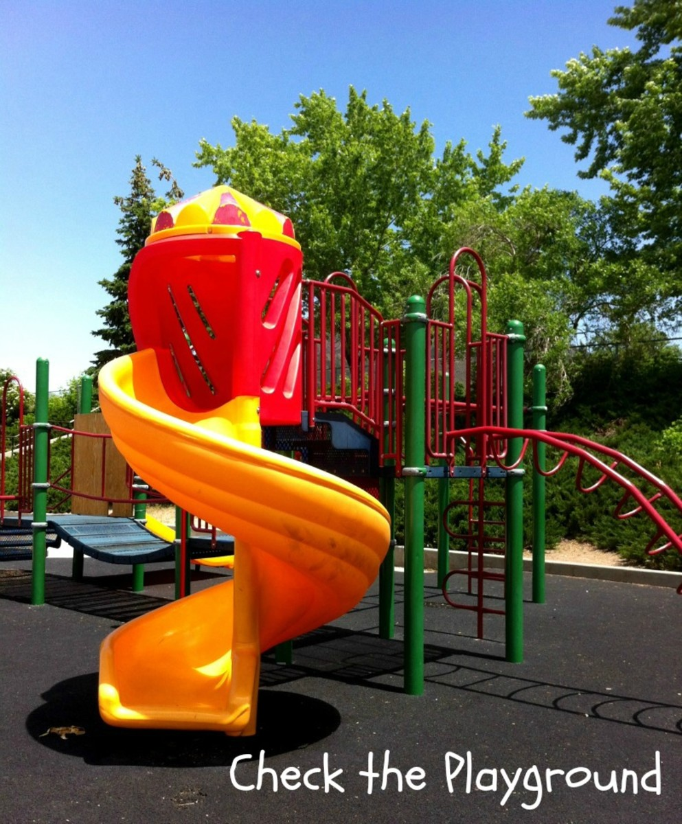 Summer Safety Tips for Kids - Check the Playground